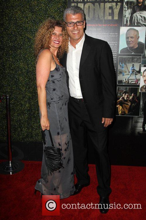 Kym Gold and Guest The Los Angeles premiere...
