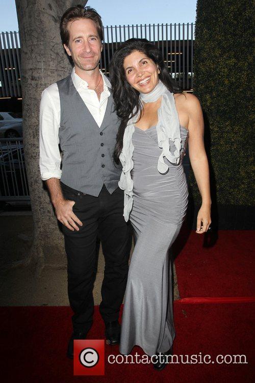 Richard Gunn, Jenna Mattison The Los Angeles premiere...