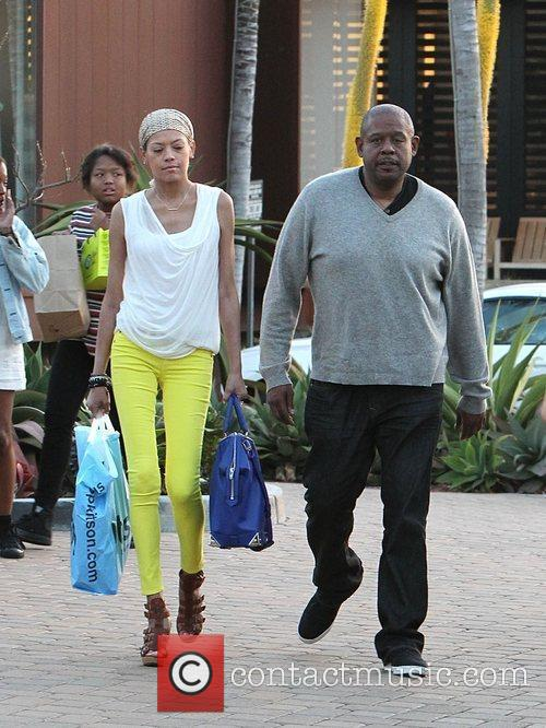 forest whitaker and wife keisha nash at 3864866