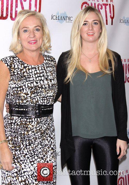 Helga Olafsson and Katrin Olafsson  Premiere of...