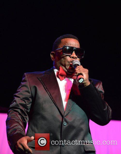 Forever R&B Concert series held at the BankUnited...
