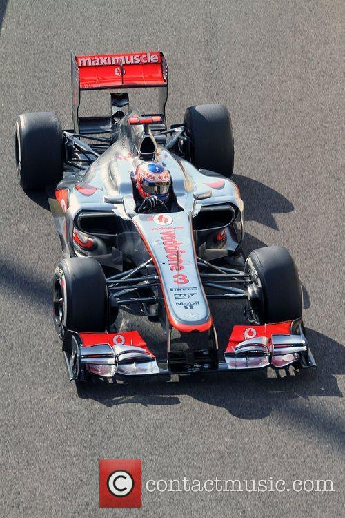 Jenson Button, Team McLaren-Mercedes  F1 - Formula...