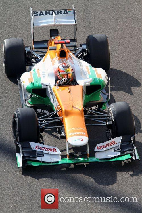 Jules Bianchi, Team Force India Mercedes  F1...