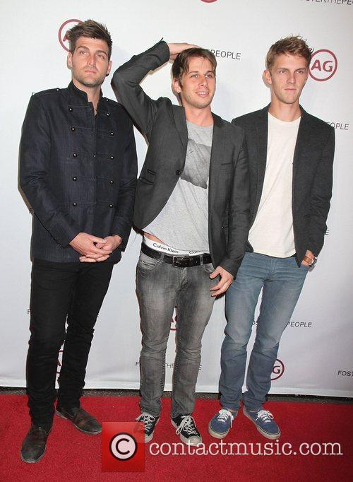 Cubbie Fink, Mark Foster and Mark Pontius of...