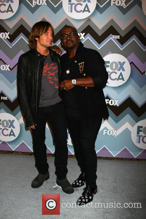 Keith Urban and Randy Jackson 4