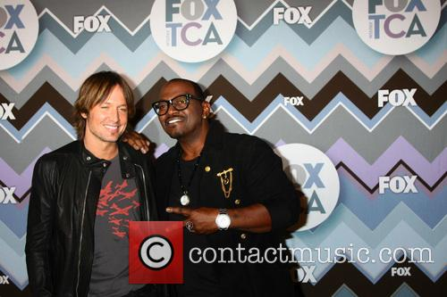 Keith Urban and Randy Jackson 6