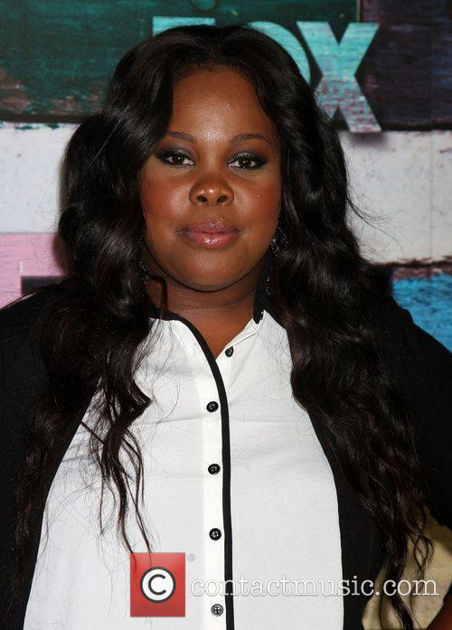 Amber Riley Fox All-Star party held at Soho...