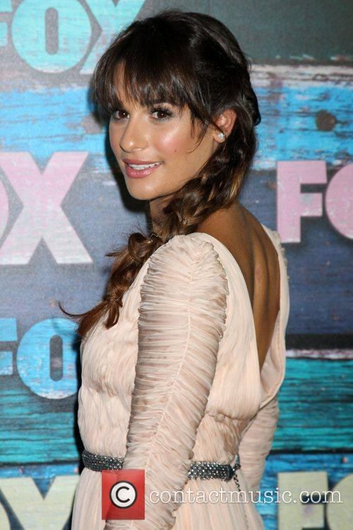 Lea Michele Fox All-Star party held at Soho...