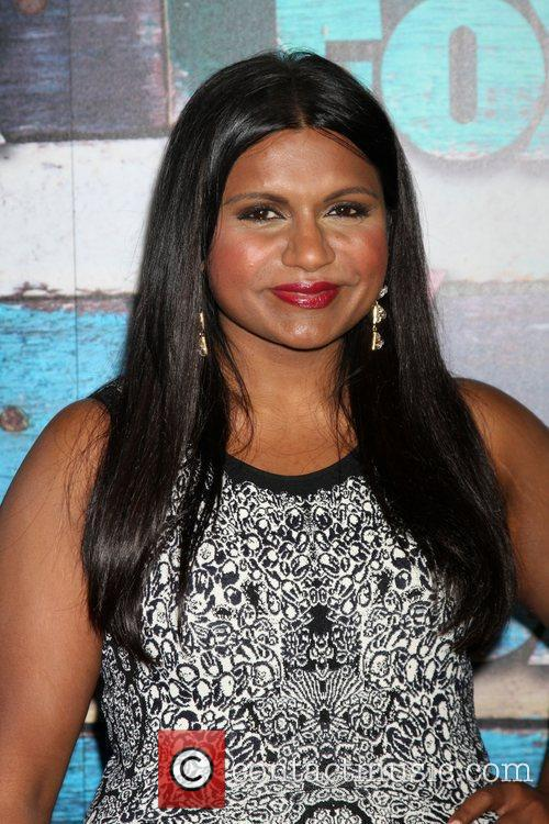 Mindy Kaling Fox All-Star party held at Soho...