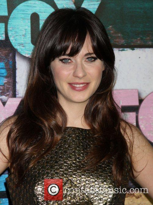 Zooey Deschanel Fox All-Star party held at Soho...