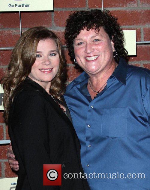 Dot Marie Jones and her girlfriend  FOX...