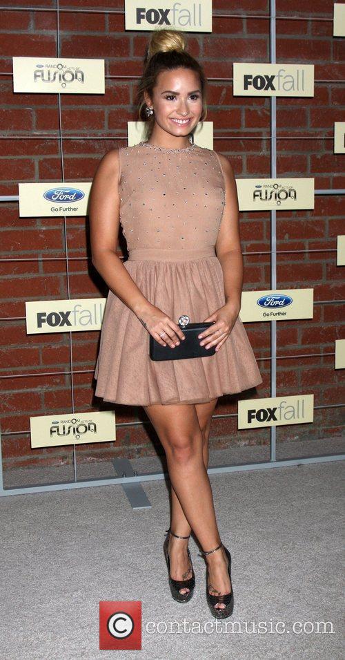 Demi Lovato  FOX Fall Eco-Casino Party at...