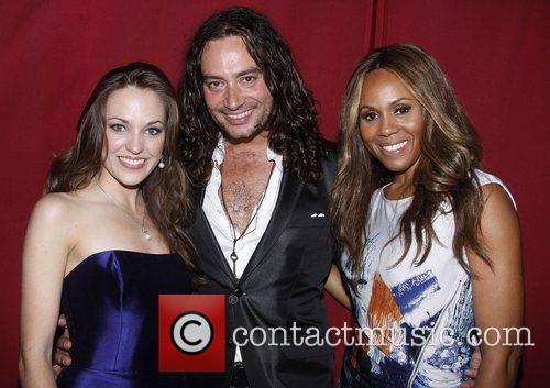 Laura Osnes, Constantine Maroulis and Deborah Cox 2