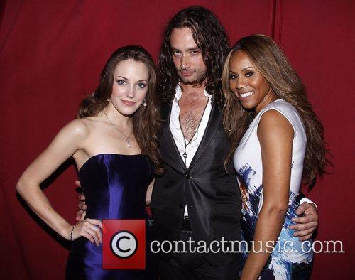Laura Osnes, Constantine Maroulis and Deborah Cox 1