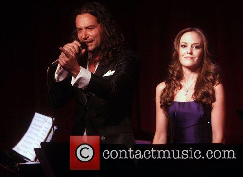 Constantine Maroulis and Laura Osnes 6