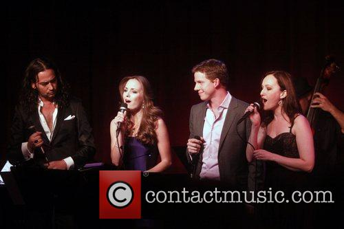 Constantine Maroulis, Laura Osnes and Stark Sands 2