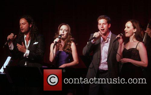 Constantine Maroulis, Laura Osnes and Stark Sands 3