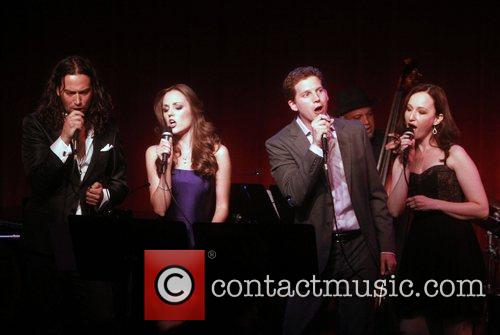 Constantine Maroulis, Laura Osnes and Stark Sands 4