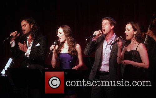 Constantine Maroulis, Laura Osnes and Stark Sands 5