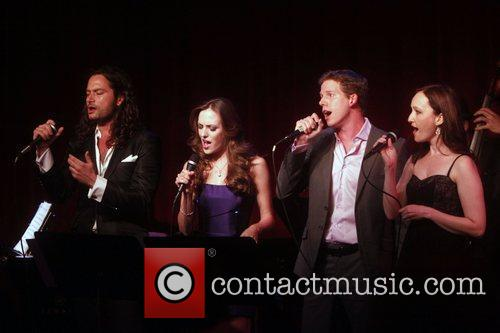 Constantine Maroulis, Laura Osnes and Stark Sands 1