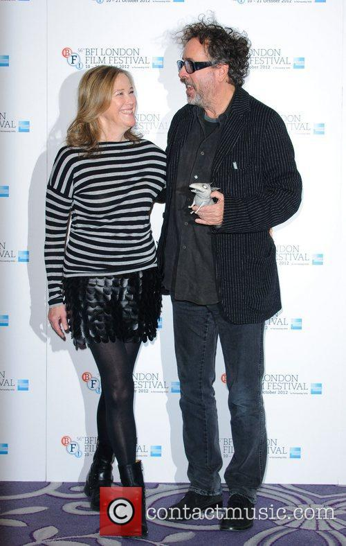 Catherine O'hara and Tim Burton 5