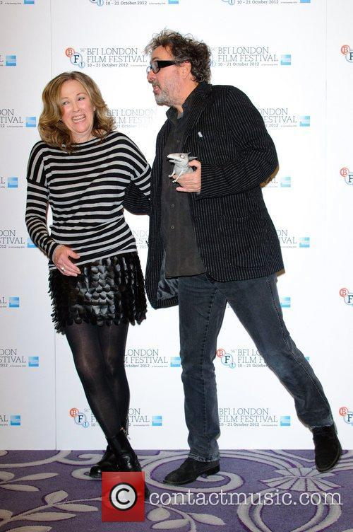Catherine O'hara and Tim Burton 7