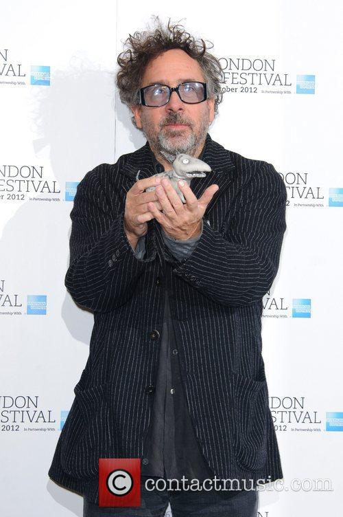 Tim Burton 56th BFI London Film Festival -...