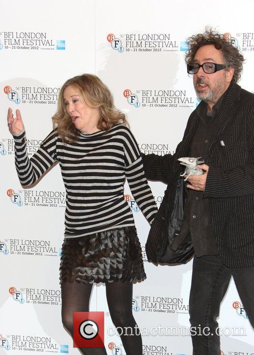 Tim Burton and Catherine O'hara