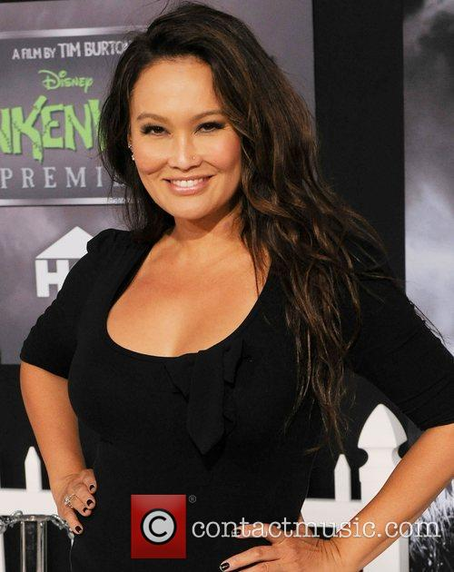 tia carrere disneys frankenweenie premiere at the 4097477