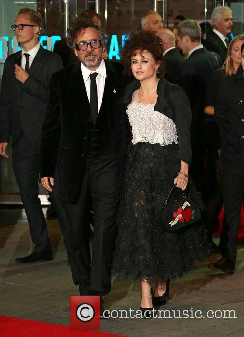 Tim Burton and Helena Bonham Carter 3