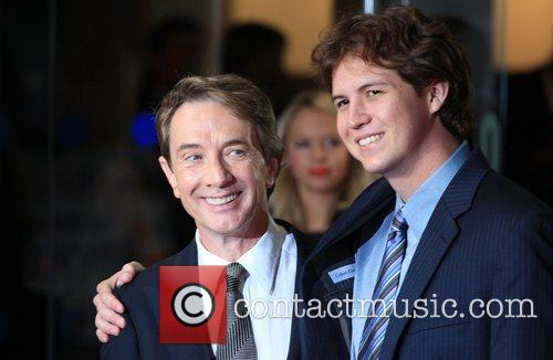 Martin Short with his son 56th BFI London...