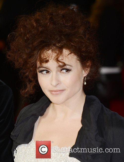 Helena Bonham- Carter at the premiere of