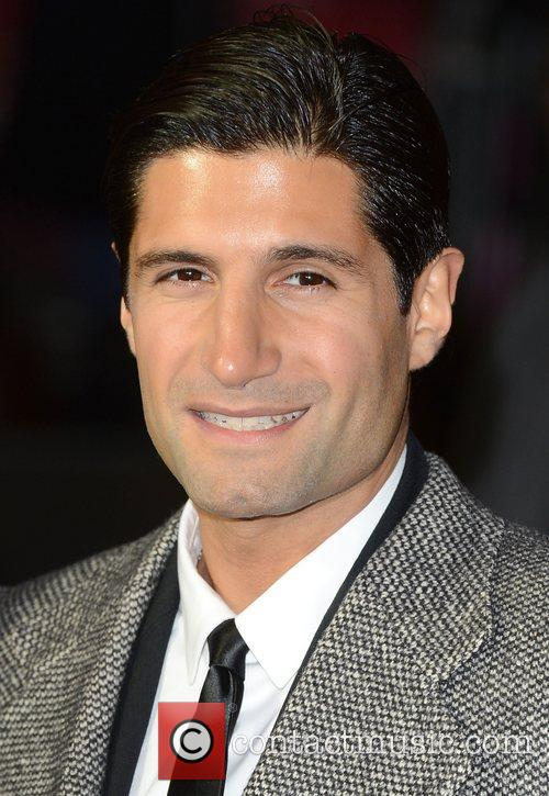Kayvan Novak at the premiere of