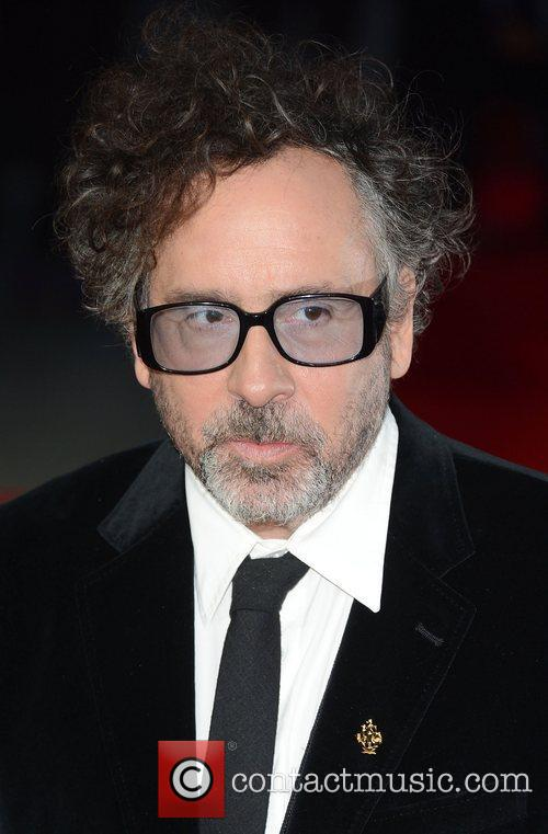 Tim Burton, Frankenweenie, Odeon, Leicester Square, London and England 6
