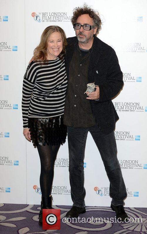 Catherine O'hara and Tim Burton 3