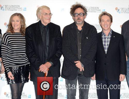 Catherine O'hara, Martin Landau, Tim Burton and Martin Short 2