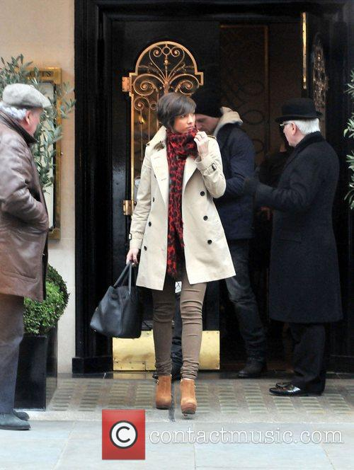 Frankie Sandford, Wayne Bridge and Scott's Restaurant 3
