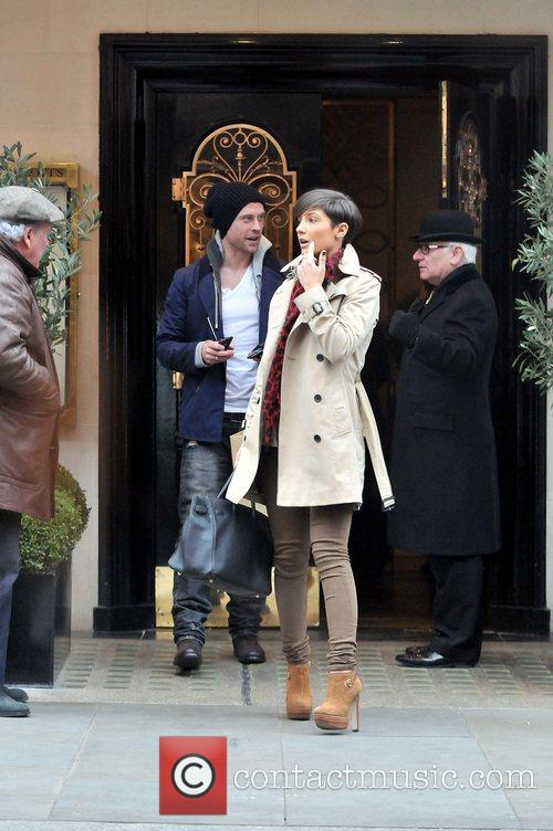 Frankie Sandford, Wayne Bridge and Scott's Restaurant 9