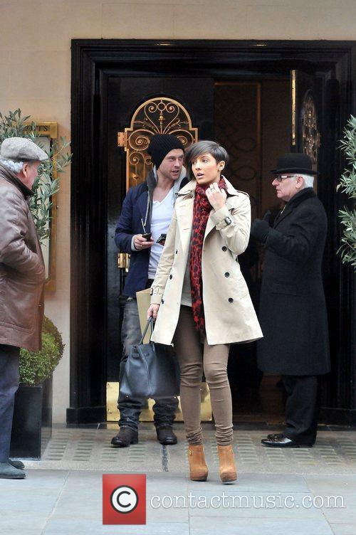 Frankie Sandford, Wayne Bridge and Scott's Restaurant 10