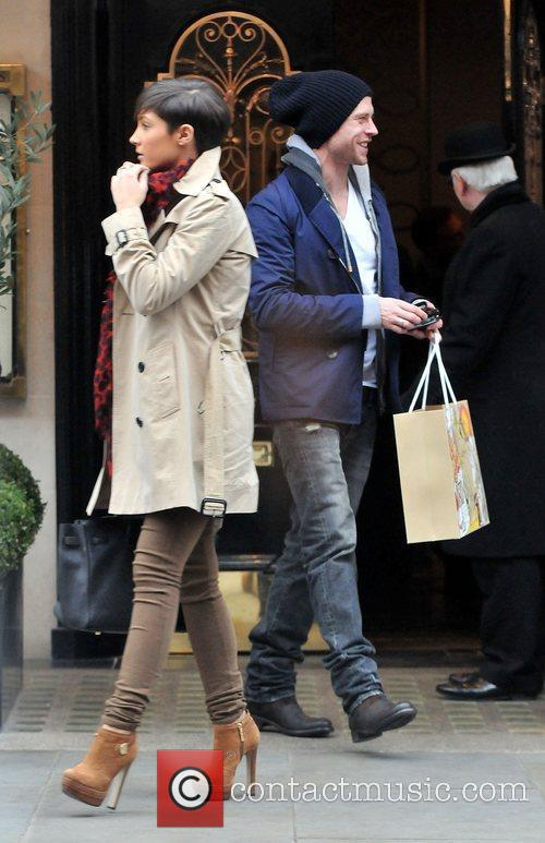 Frankie Sandford, Wayne Bridge and Scott's Restaurant 11