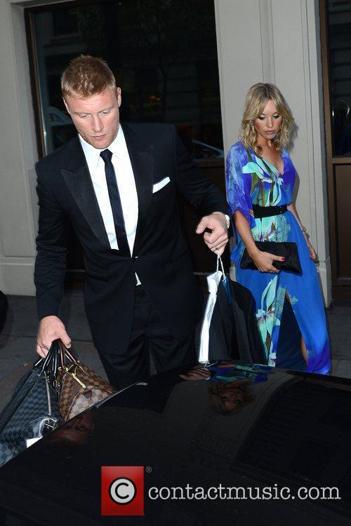 Freddie Flintoff and his wife Rachael Woods are...