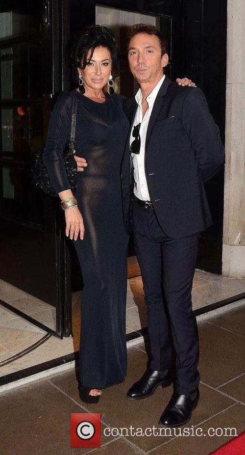 Nancy Dell'Olio and Bruno Tonioli,  at the...
