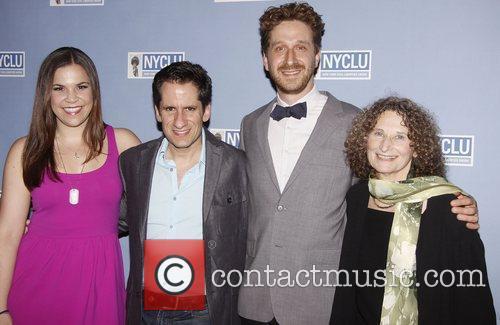 Lindsay Mendez, Seth Rudetsky, Daniel Goldstein and Donna...
