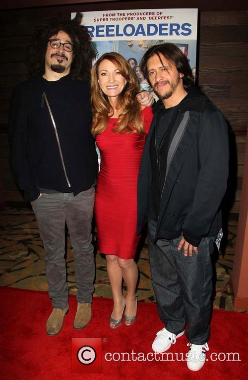 Adam Duritz, Jane Seymour and Clifton Collins Jr 1