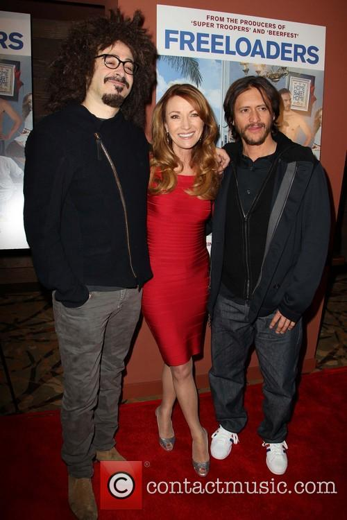Adam Duritz, Jane Seymour and Clifton Collins Jr 2