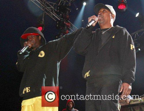 Chuck D And Flavor Flav In London