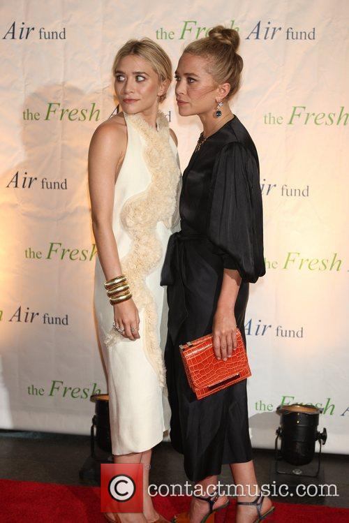 Mary-Kate and Ashley Olsen The Fresh Air Funds...