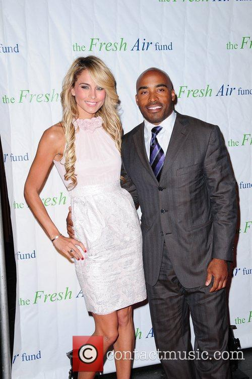 Tiki Barber and Guest The Fresh Air Funds...