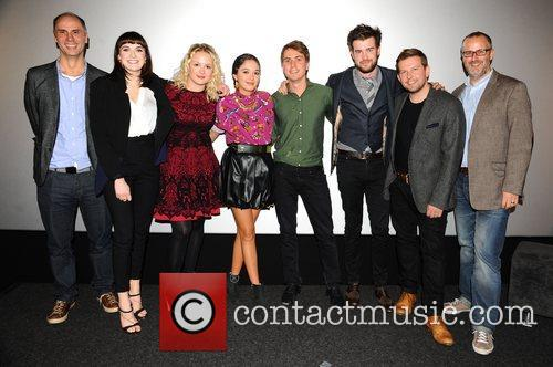 Charlotte Ritchie, Kimberley Nixon, Guest, Joe Thomas, Jack Whitehall and Greg Mchugh 2