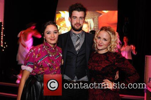 Guest, Jack Whitehall and Kimberley Nixon 1